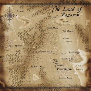 Map of the Known Land of Pasaron