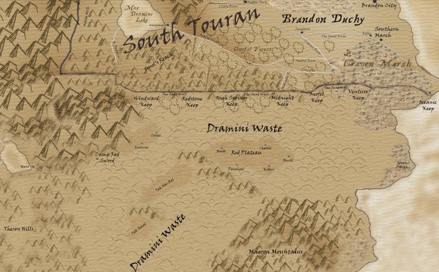 Southern Touran and the Dramini Waste - Small copy